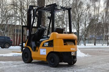 Погрузчик бу Caterpillar DP15NT 1,5 т (47)
